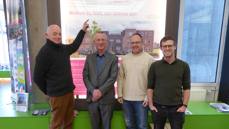 Meeting the director of the IbbA programme (self-commissioning programme aimed at intermediate housing market)