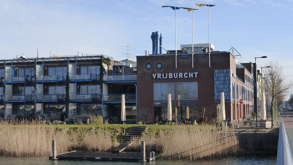 Vrijburcht 'CPO' (collective private comissioning) project in Steigeriland, Amsterdam